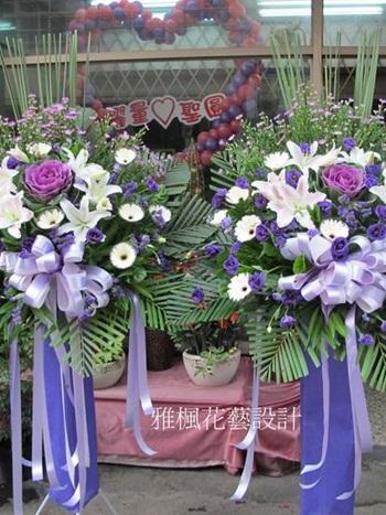 虎尾花店0920768477弔唁公祭高架花籃
